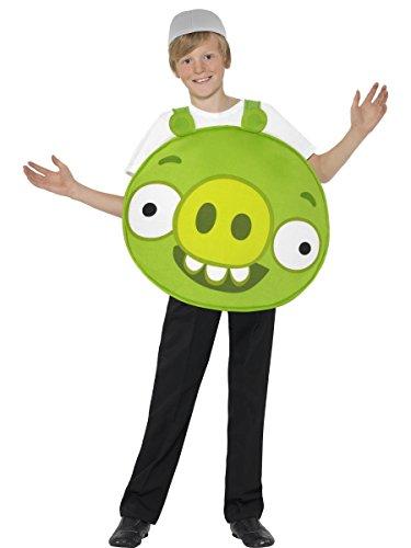 Smiffy's Maiale Verde - Angry Birds - Childrens Costume - Medium - 143 Centimetri - Età 7-9