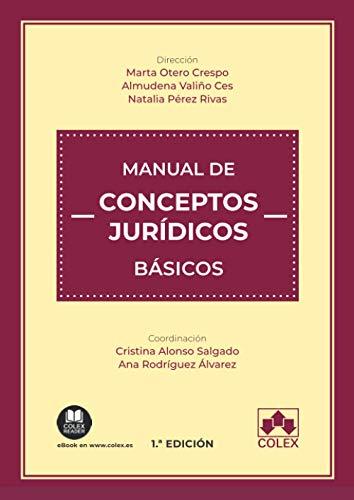 Manual de conceptos jurídicos básicos: 1 (Monografía)