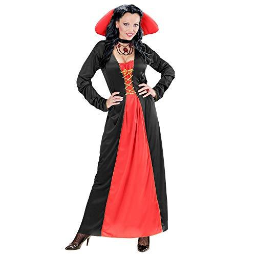 Widmann-Victorian Vampiress Costume Donna, Multicolore, (M), 00422