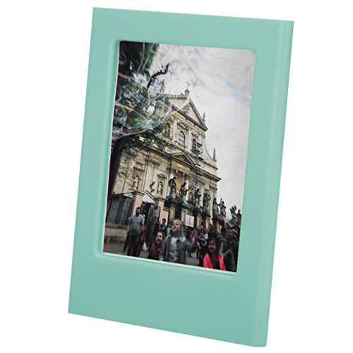 Polaroid 3 pulgadas imanes de nevera, marco de fotos magnético, plástico para decoración, pegatinas de decoración de(Frost light blue)