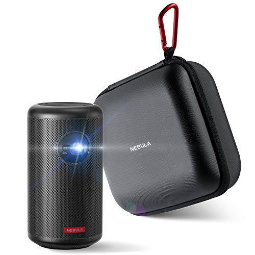 Anker Nebula Capsule Max with Premium Protection Projector Travel Case