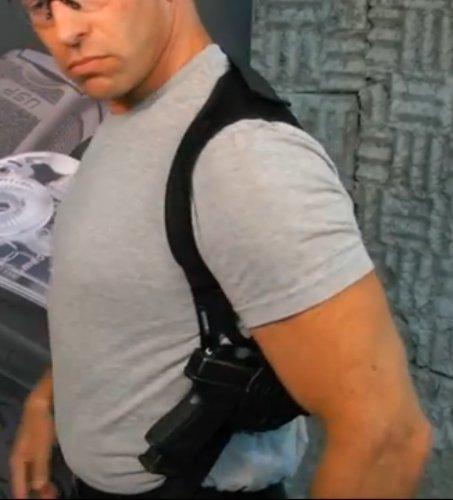 Fobus Deep Concealment/Concealable Shoulder Holster Pouch Black Sholder Beretta PX4 Storm Compact