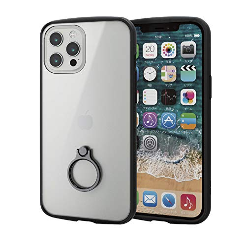 エレコム iPhone 12 Pro Max ケース ハイブリッド 耐衝撃 TOUGHSLIM LI…