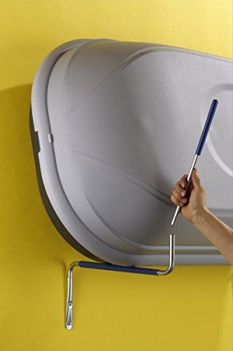 Mottez Wandhalterung für Dachbox einklappbar