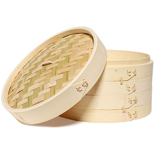Natural Bamboo Steamer Basket
