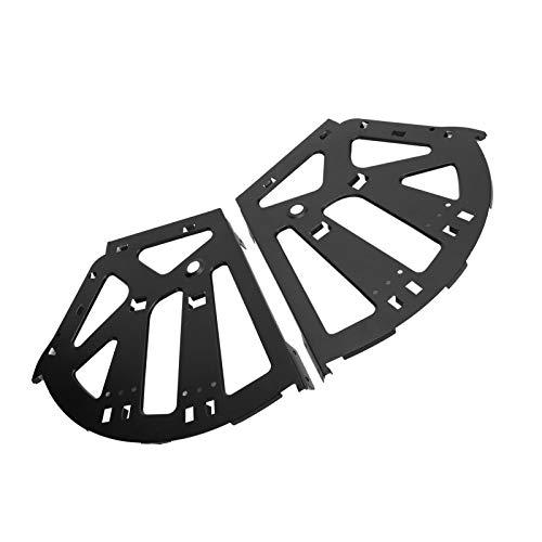 Bisagra para cajón de zapatos, negro Zapatero giratorio para armario 578g Práctico 257x310 mm para zapatero para zapatero para aumentar la capacidad del gabinete