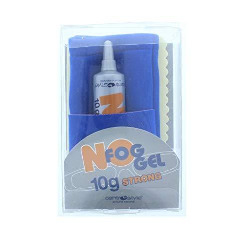No Fog Gel 10g Tube con funda y paño