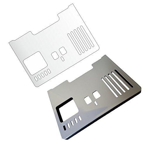 3 x Schutzfolie für DeLonghi PrimaDonna ECAM 656.85 MS & 656 75.MS - 650.85-650.75 - 650.55 Abtropfblech - Tassenablage - Abstellblech