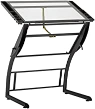 SD STUDIO DESIGNS Triflex Drawing Table, Sit to Stand Up Adjustable Office Home Computer Desk, 35.25