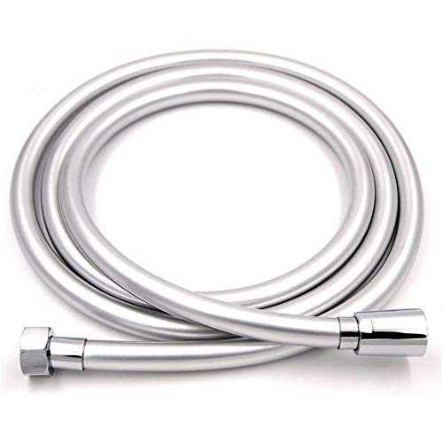 STARBATH Flessibile Doccia in PVC Tubo Doccia 2m Anti-esplosione e resistente ad alta temperatura, Connettore in Ottone