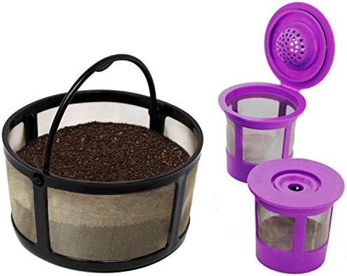 Reusable Mesh Ground Coffee Filter Carafe for Keurig K Duo Essentials and K Duo Brewers Machine product image