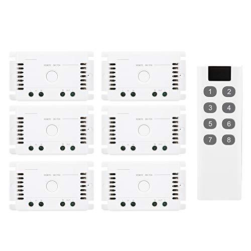 Interruptor de control remoto inalámbrico, controlador de atenuación de luz LED, transmisor...