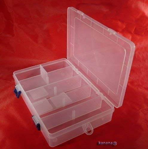 Soytich Plastikbox Angelbox Köderbox zubehörbox Angel Box TACKLEBOX SN-(MP2038B)
