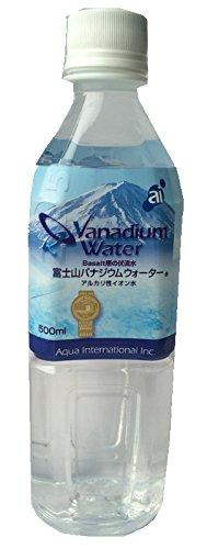 アクアインターナショナル 富士山バナジウムウォーター ペット 500ml×24本