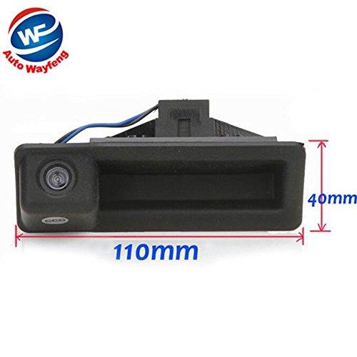 Auto Wayfeng® Backup-Cam Rückansicht Rearviewparkenkamera Nachtsicht-Auto-Rückkamera Fit für BMW E82 E88 E90 E91 E92 E93 E60 E61 E70 E71