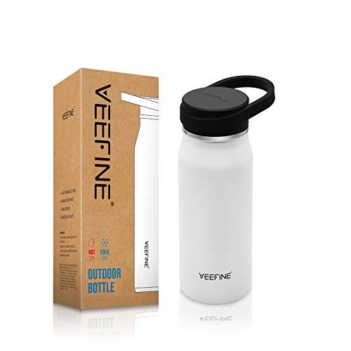 VEEFINE Water Bottle Vacuum Insulated Stainless Steel Water Bottles Keep