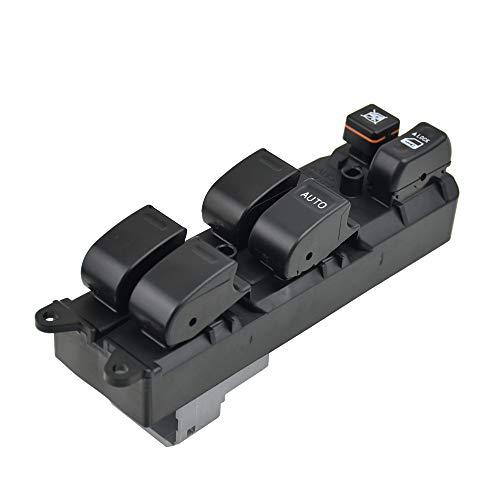 KUANGQIANWEI Interruptor de Ventanas de Potencia Maestra RHD Ajuste para Toyota RAV4 1996-2000 84820-06040 8482006040