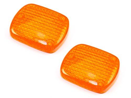 Blinker Glas Satz E-geprüft 2 Stück für Honda