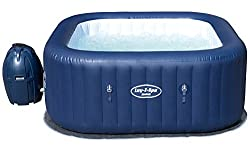 Relax and unwind in your very own fully functional hot tub Portable and inflatable, this hot tub fits four to six people Dual Operate Heating and Massage System: Heats Up to 40 degree Celsius (104 degree Fahrenheit) Tool Free Easy Set Up Up to 2 Year...