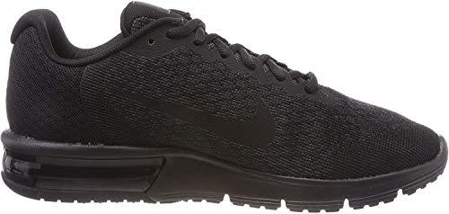 Nike Air MAX Sequent 2, Zapatillas de Deporte para Hombre, Negro (Black/Black/Black 015), 44.5 EU