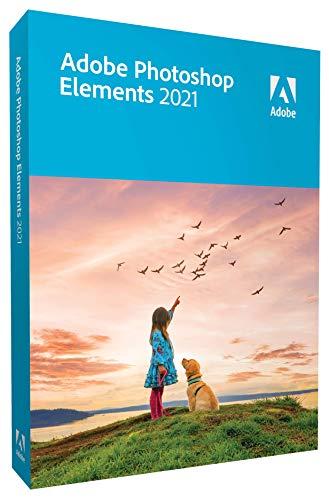 Adobe Photoshop Elements 2021|Retail|1 Gerät|unbegrenzt|PC/MAC|Disc|Disc, 65312877
