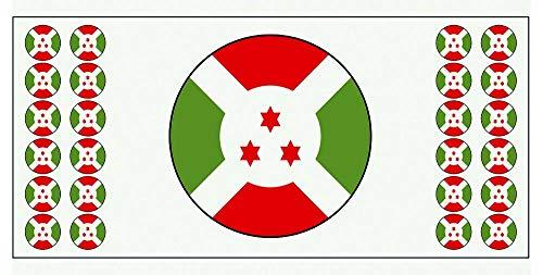 Bur&i-Flagge Banner – Poster – Party-Dekoration – Feier – Event – Weltmeisterschaft (2 Stück)