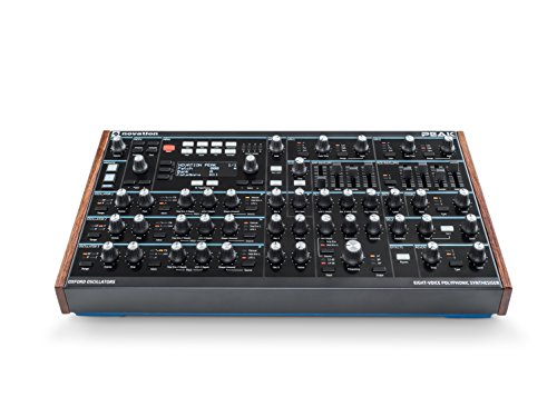 Novation Peak 8-stimmiger polyphonischer Desktop-Synthesizer Synthezizer