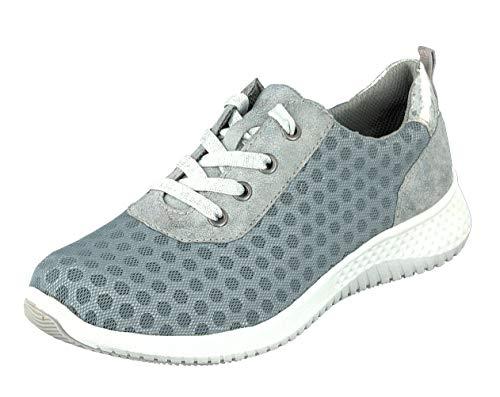 Relife Damen Schnürhalbschuhe Sneaker R4048 in Light Blue (38 EU)