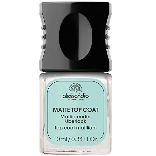 alessandro Professional Manicure Mattierender Überlack, 1er Pack (1 x 10 ml)