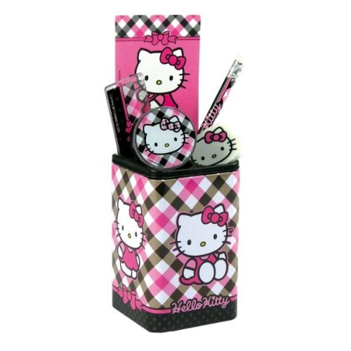 Hello Kitty Schreibtischset Set Geschenk Büro