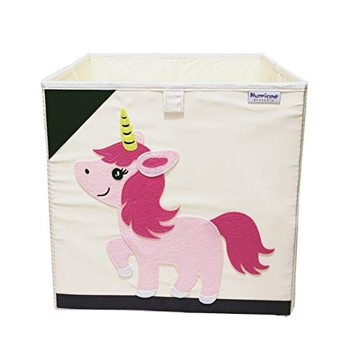 New Oxford Cloth Animal Embroider Aufbewahrungsbox Kinder Kleinigkeiten Aufbewahrungskorb Spielzeug Aufbewahrungswürfel Organizer für Kinder Spielzeugkiste 33x33x33CM