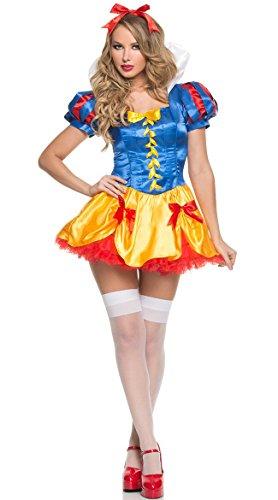 GGTBOUTIQUE Top Totaal Sneeuw Wit Fee Verhaal Halloween Jurk Kostuum