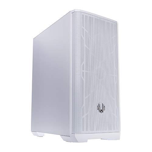 BitFenix Nova Mesh SE Edition PC Gaming Case, White/White Mesh ATX/Micro ATX/Mini ITX, Steel Side Panel, 2 X White Fans Pre-Installed,BFC-NSE-300-WWXKP-RP