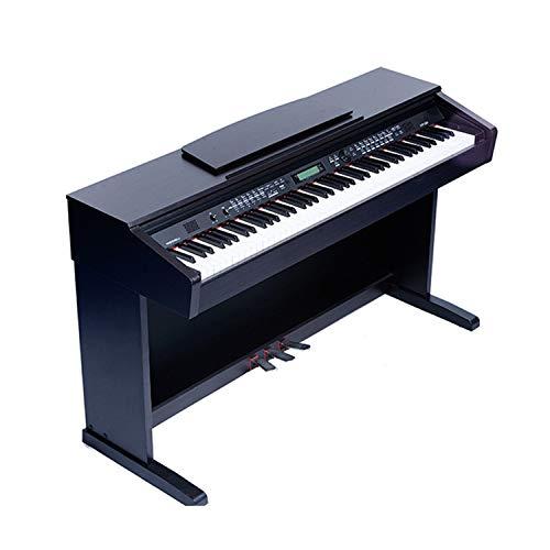 MYRCLMY Profesional Adulto Piano Electrónico 88-Key Heavy Hammer Keyboard Piano Eléctrico Niños Regalo Regalo Electrónico Órgano, Entrenamiento Y Enseñanza Piano Electrónico Vertical