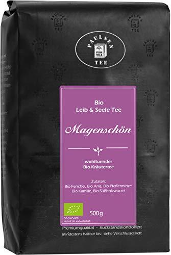 Bio Magenschön 500g (37,90 Euro / kg) Paulsen Tee Kräutertee rückstandskontrolliert & zertifiziert