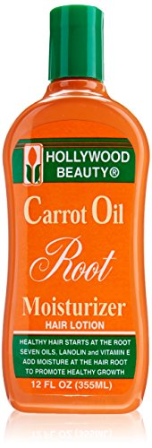 Hollywood Beauty Carrot Oil Root Moisturizer, 12 Ounce by Hollywood Beauty