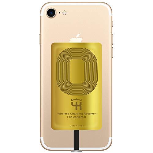 Qi Empfänger für iPhone 5- 5c- SE- 6- 6 Plus- 7- 7 Plus - iPad - iPhone QI Wireless Empfänger - Charging Empfänger - iPhone Wireless Charging Empfänger - QI Wireless Charging Adapter