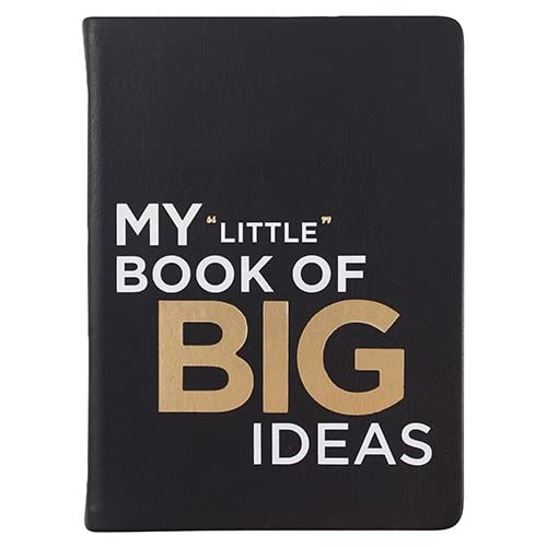 """JOU-120-M3CW-A BookFactory Idea Book//Idea Journal//Mini Ideas Notebook//Pocket Idea Log Book 120 Pages Ideas 3 1//2/"""" x 5 1//4 Durable Thick Translucent Cover Wire-O Binding"""