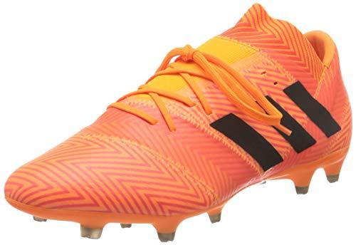 adidas Nemeziz 18.2 Fg, Scarpe da Calcio Uomo, Arancione Zest/Cblack/Solred, 44 EU