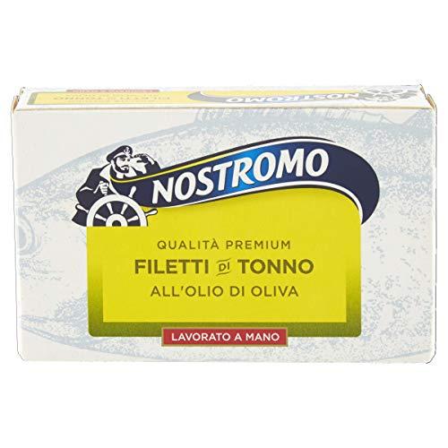 Nostromo Qualità Superiore Filetti Di Tonno All'Olio Di Oliva - 120 Gr