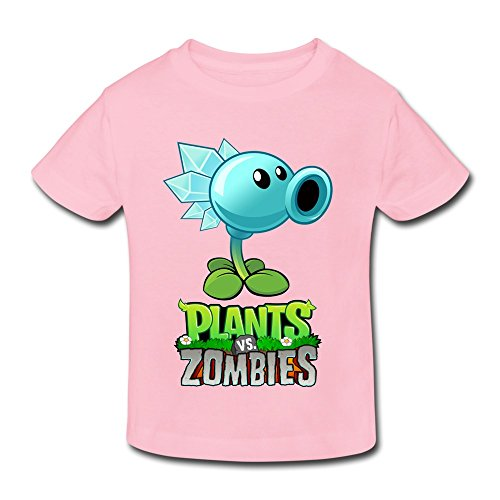Age 2-6 Kids Toddler Plants Vs Zombies Little Boy/'s Girl/'s Fashion T Shirts