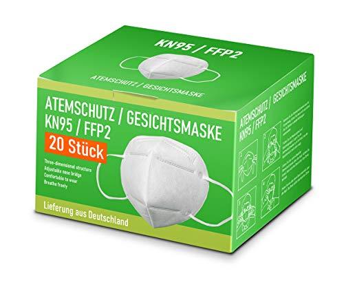 Premium Mund und Nasen Schutz 20 Stück inkl 15 Euro Gutschein für den OnlineShop PCBilliger