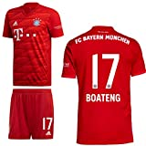 adidas FCB FC Bayern München Home Kit Heimset 2019 2020 Herren Boateng 17 Gr XL