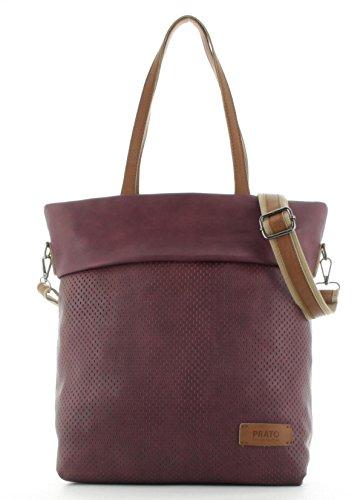 Prato Damen Shopper Schultertasche Citytasche Frauentasche Freizeittasche S795