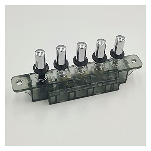 YJLLOVE CAX 250V Interruptor de botón de Tres Posiciones Interruptores de alimentación CAMPANTE CAMPANTE Cambio Ajuste para CAPULARES DE Cocina Accesorios