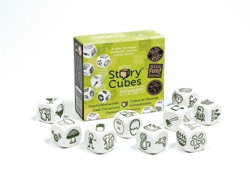 Zygomatic Asmodee Story Cubes Voyages, Familienspiel, Erzählspiel, Deutsch