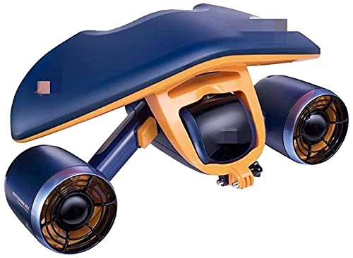 Peakfeng Scooter Submarino, Agua de Buceo de Agua de mar, natación Snorkeling Buceo en Scooter, Equipo de Buceo de Mano (Color : Dark Blue)