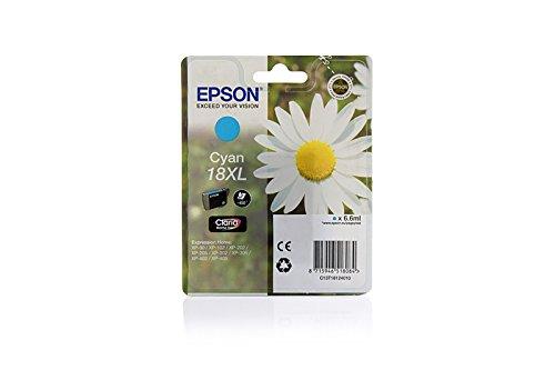 Ink cartridge Original Epson 1x Cyan C13T18124010 / 18XL XL for Epson Expression Home XP-312