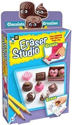 AMAV Toys Eraser Studio Make Your Own Fruit Market Eraser Kit by Amav with 3D Mold Art DIY for product image