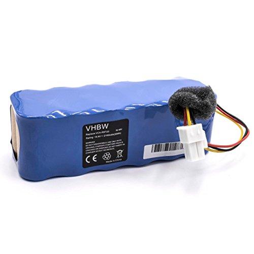 Batteria per aspirapolvere robot Samsung Navibot SR8896, SR8897, SR8898, SR8990, VCR8730, VCR8750, VCR8824 sostituisce VCA-RBT20 2100mAh (14.4V) Ni-MH